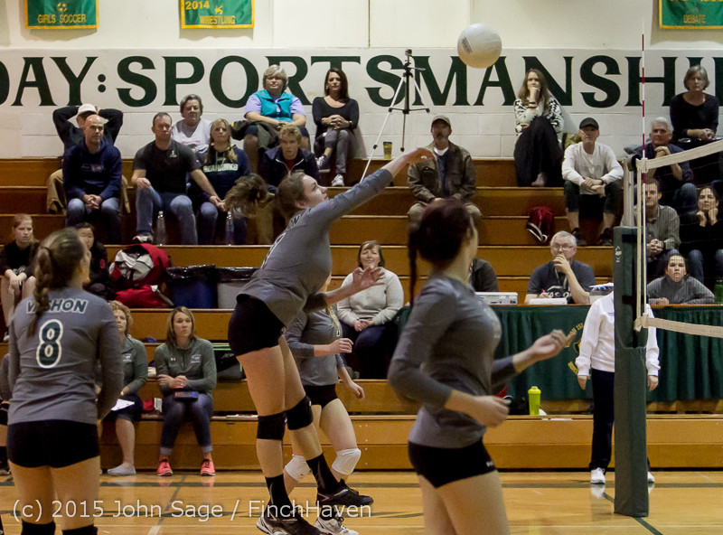8776 Varsity Volleyball v Crosspoint 102315
