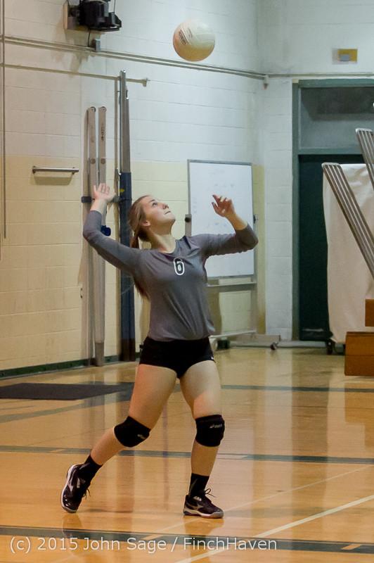 8782 Varsity Volleyball v Crosspoint 102315