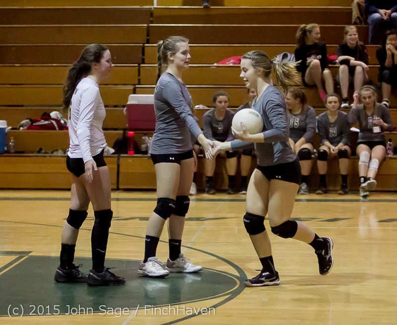 8807 Varsity Volleyball v Crosspoint 102315