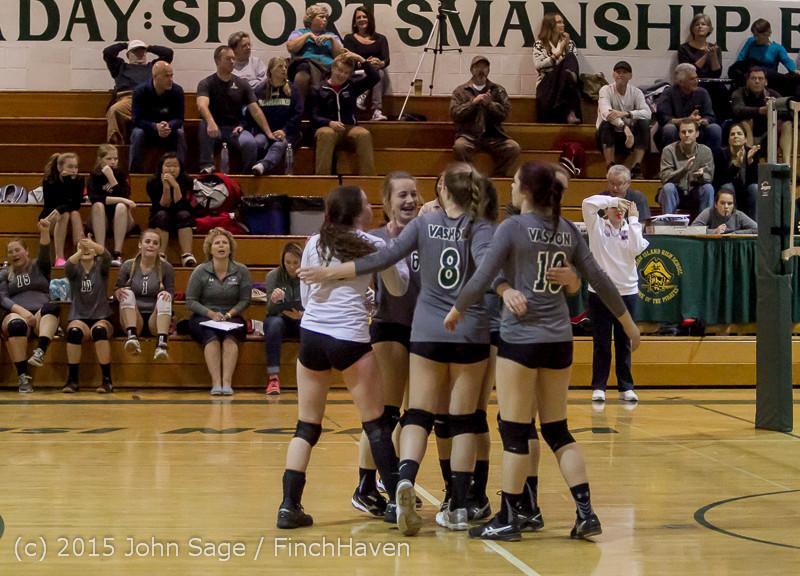 8849 Varsity Volleyball v Crosspoint 102315