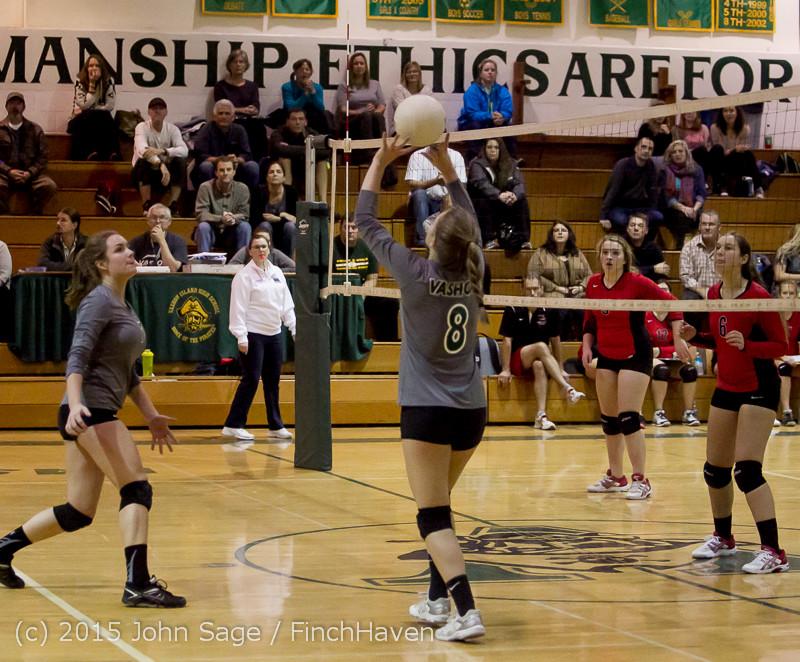 8871 Varsity Volleyball v Crosspoint 102315
