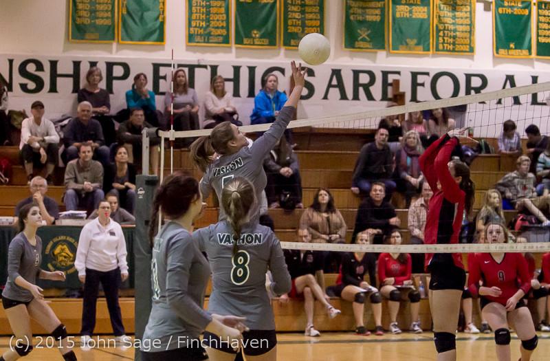 8877 Varsity Volleyball v Crosspoint 102315