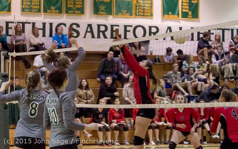 8879 Varsity Volleyball v Crosspoint 102315