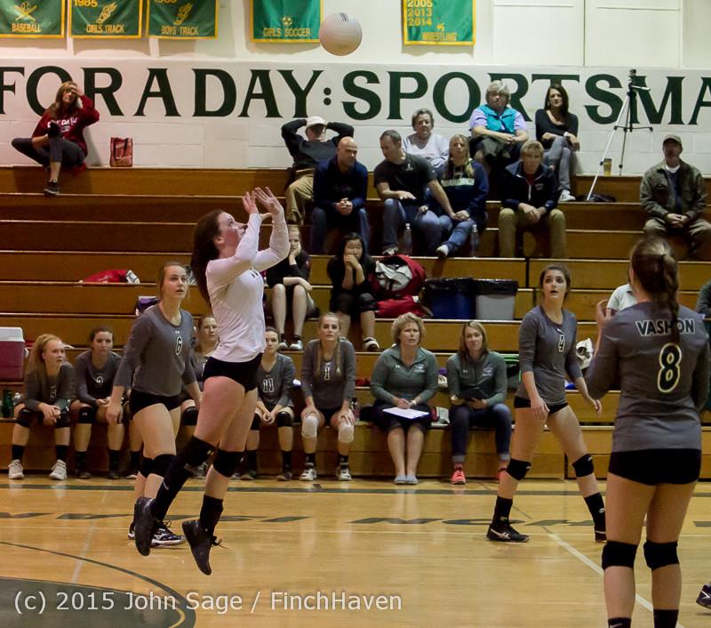 8892 Varsity Volleyball v Crosspoint 102315