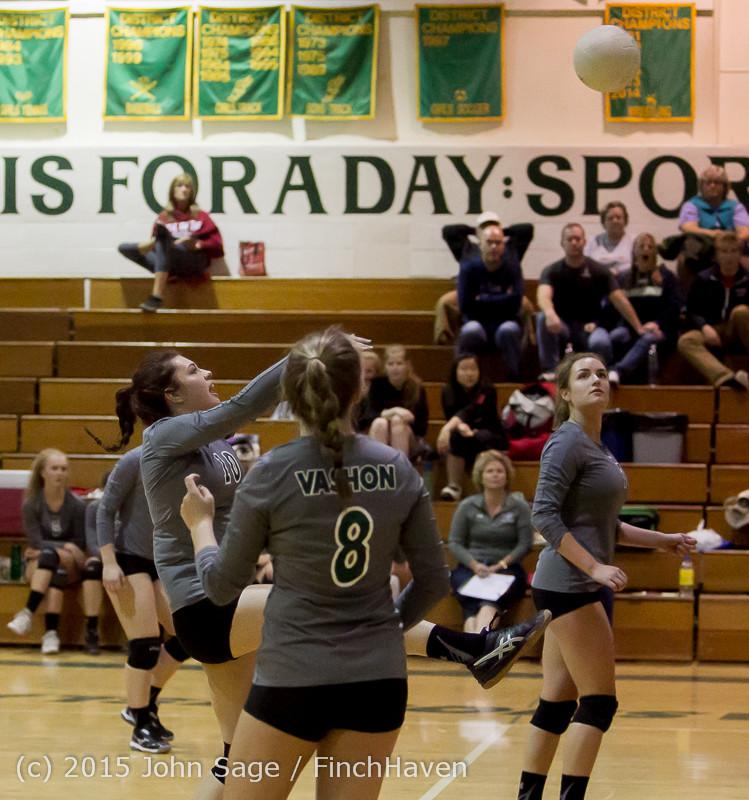 8920 Varsity Volleyball v Crosspoint 102315
