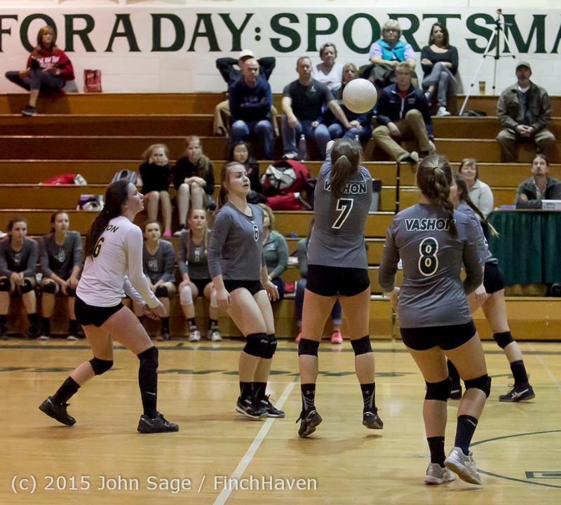 8924 Varsity Volleyball v Crosspoint 102315