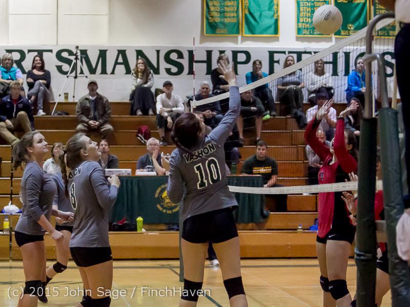 8934 Varsity Volleyball v Crosspoint 102315