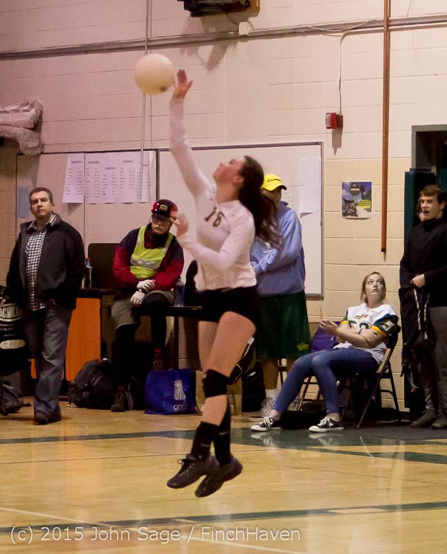 8985 Varsity Volleyball v Crosspoint 102315