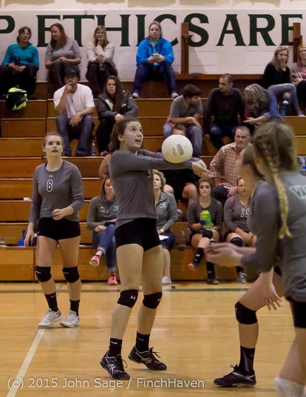 8996 Varsity Volleyball v Crosspoint 102315