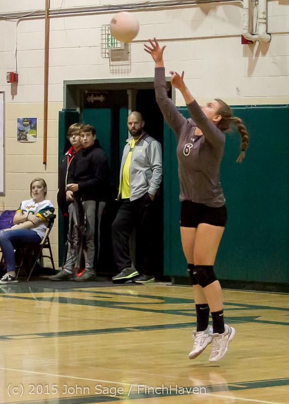 9009 Varsity Volleyball v Crosspoint 102315