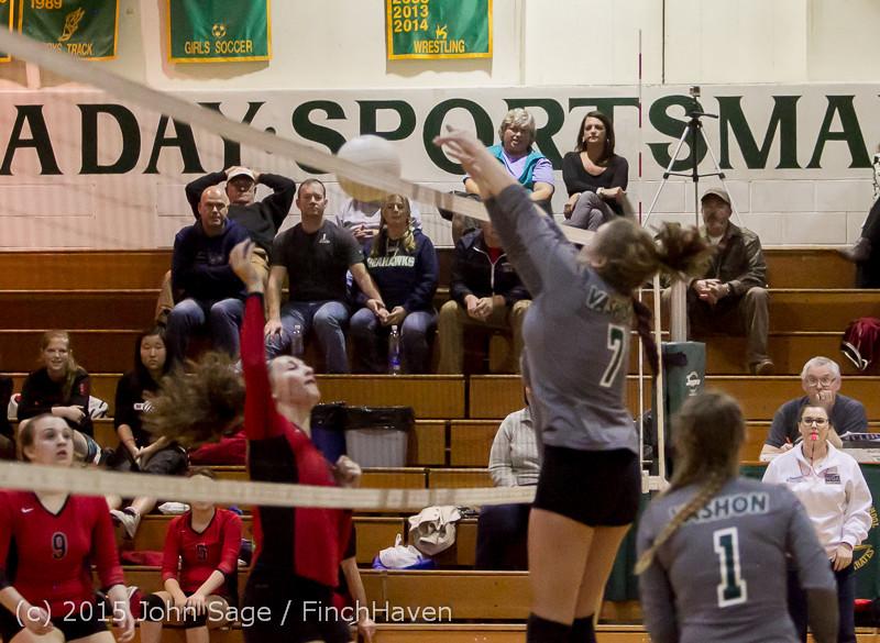 9015 Varsity Volleyball v Crosspoint 102315