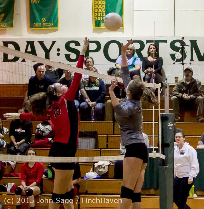 9031 Varsity Volleyball v Crosspoint 102315
