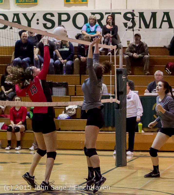 9033 Varsity Volleyball v Crosspoint 102315