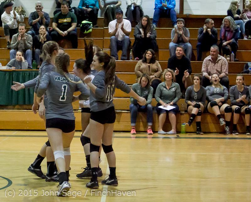 9043 Varsity Volleyball v Crosspoint 102315