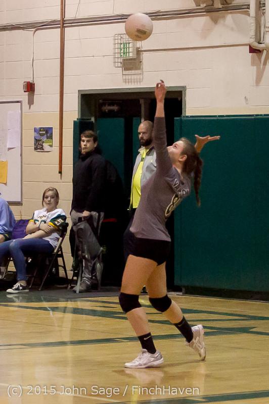 9047 Varsity Volleyball v Crosspoint 102315