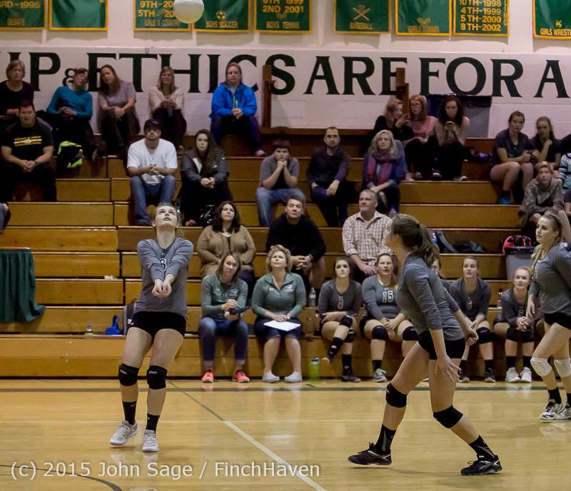 9081 Varsity Volleyball v Crosspoint 102315