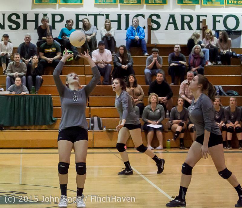9103 Varsity Volleyball v Crosspoint 102315