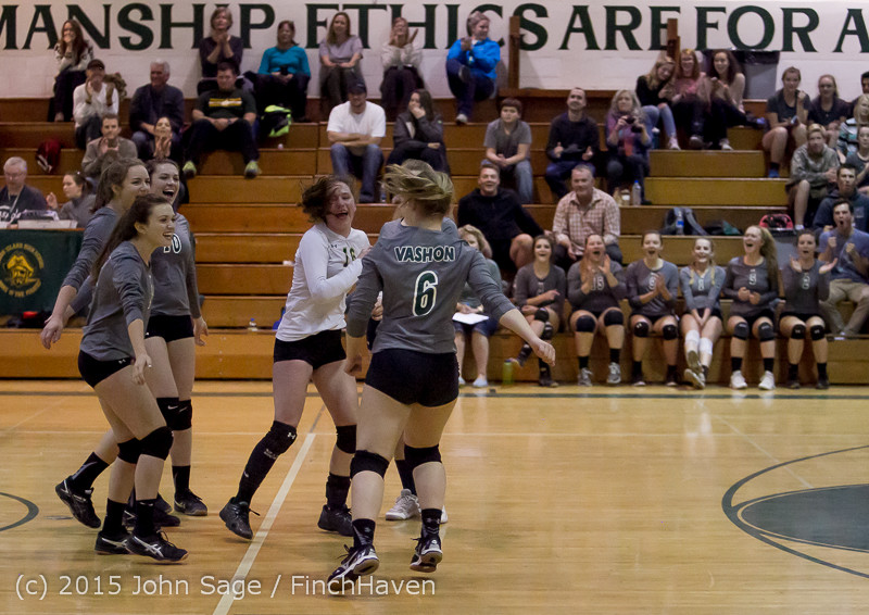 9201 Varsity Volleyball v Crosspoint 102315