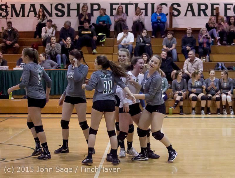9210 Varsity Volleyball v Crosspoint 102315