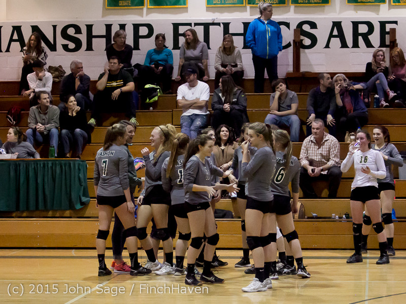 9217 Varsity Volleyball v Crosspoint 102315