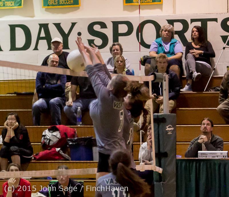 9253 Varsity Volleyball v Crosspoint 102315