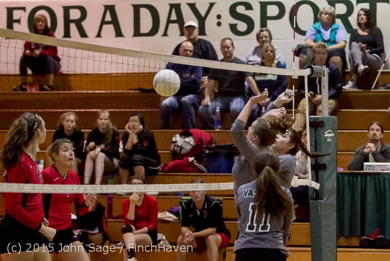 9255 Varsity Volleyball v Crosspoint 102315