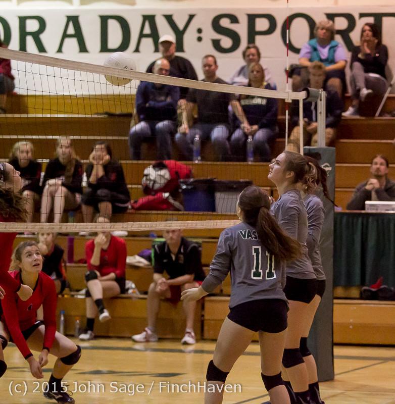 9261 Varsity Volleyball v Crosspoint 102315