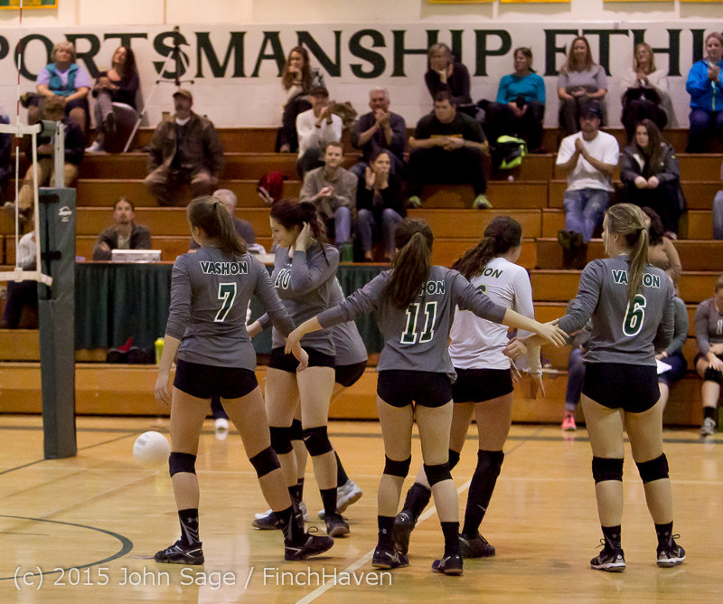 9285 Varsity Volleyball v Crosspoint 102315