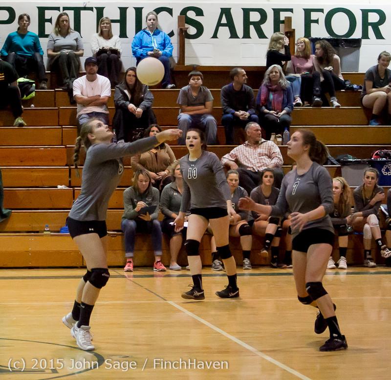 9303 Varsity Volleyball v Crosspoint 102315