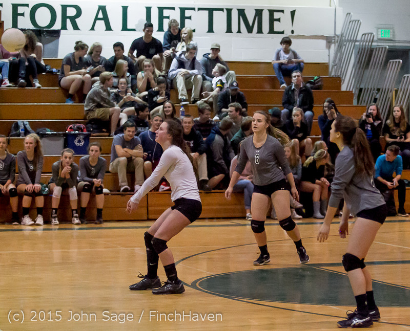 9314 Varsity Volleyball v Crosspoint 102315