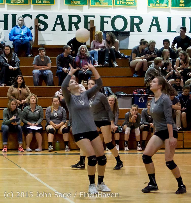 9315 Varsity Volleyball v Crosspoint 102315
