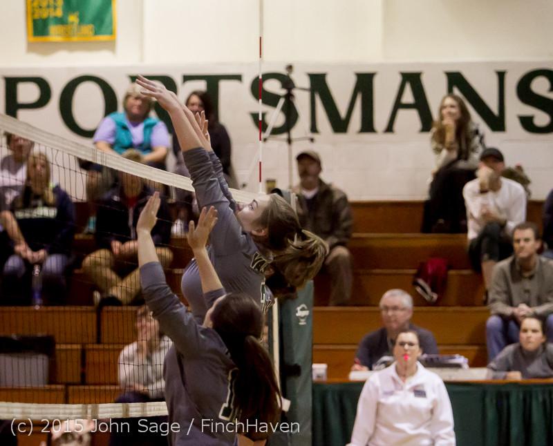 9329 Varsity Volleyball v Crosspoint 102315