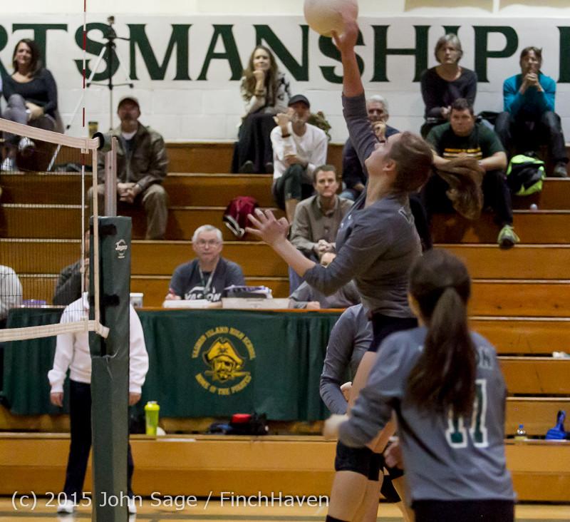 9341 Varsity Volleyball v Crosspoint 102315