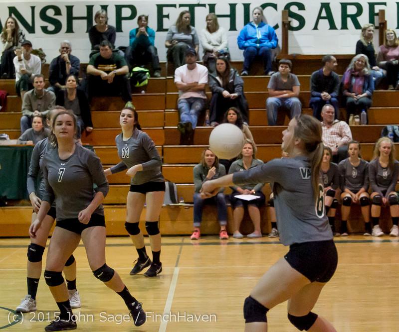9346 Varsity Volleyball v Crosspoint 102315