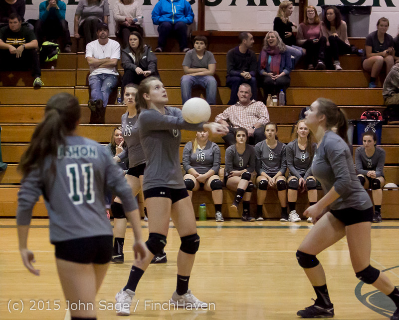 9352 Varsity Volleyball v Crosspoint 102315