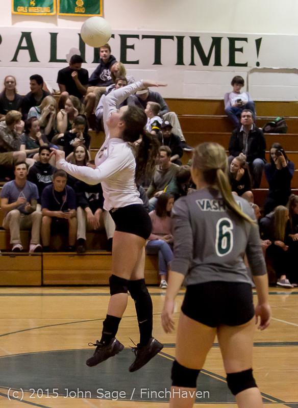 9358 Varsity Volleyball v Crosspoint 102315