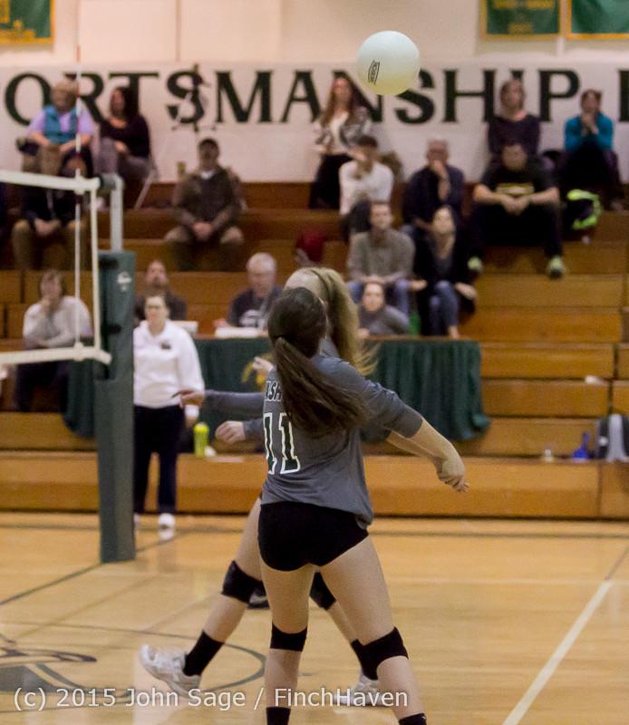 9380 Varsity Volleyball v Crosspoint 102315