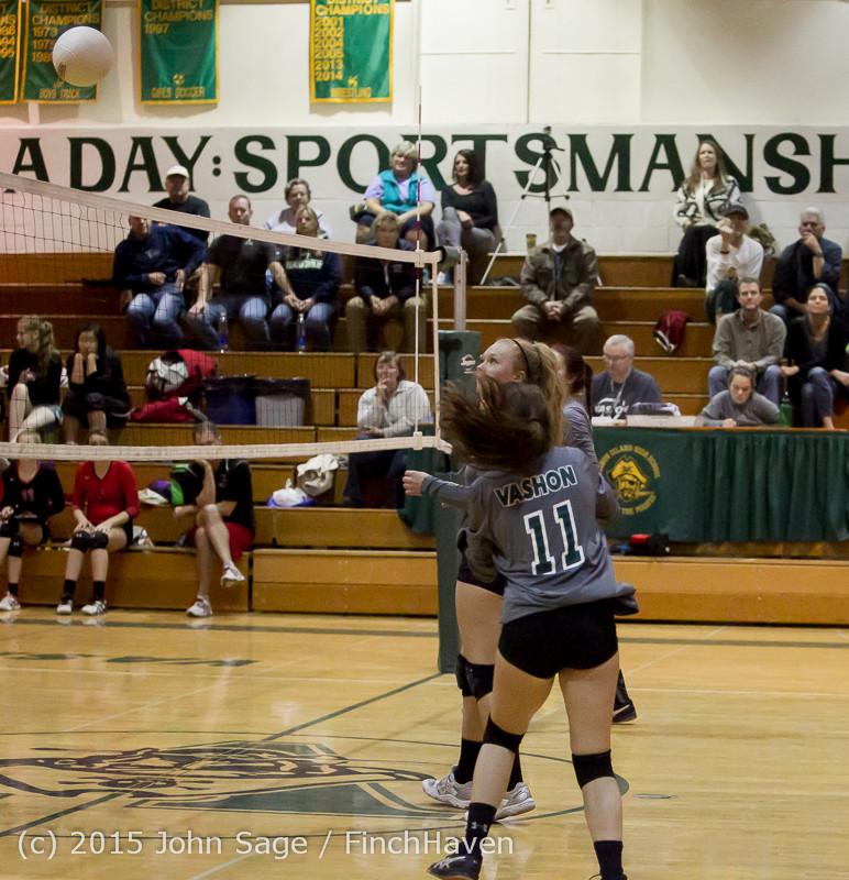 9383 Varsity Volleyball v Crosspoint 102315