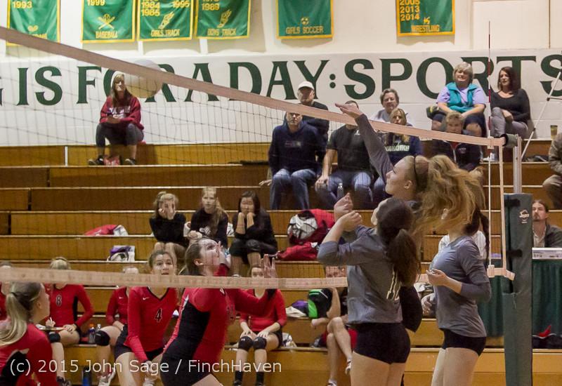 9388 Varsity Volleyball v Crosspoint 102315