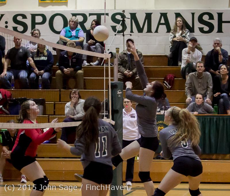 9421 Varsity Volleyball v Crosspoint 102315