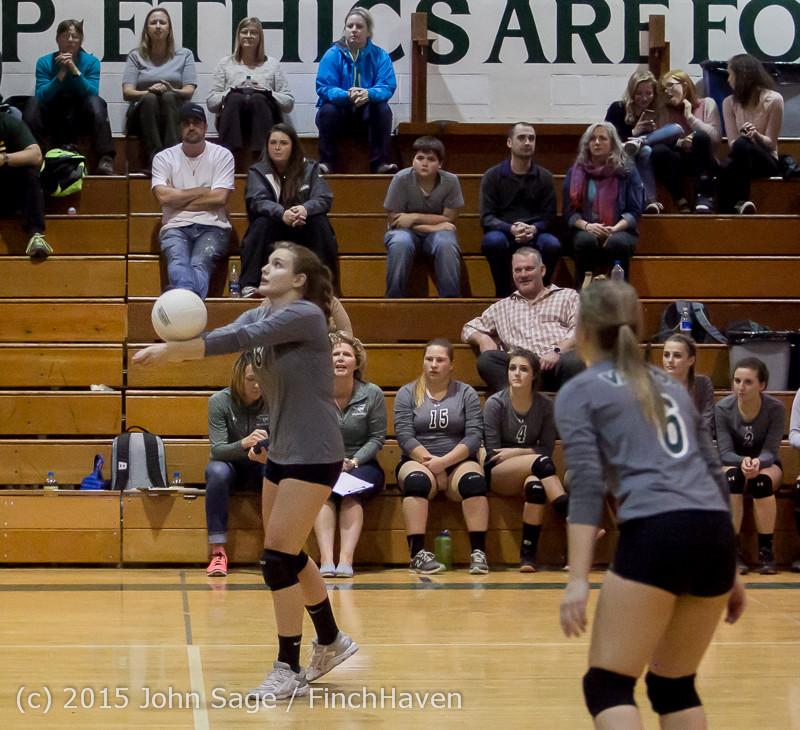 9428 Varsity Volleyball v Crosspoint 102315