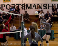9441 Varsity Volleyball v Crosspoint 102315
