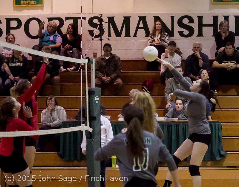 9441 Varsity Volleyball v Crosspoint 102315