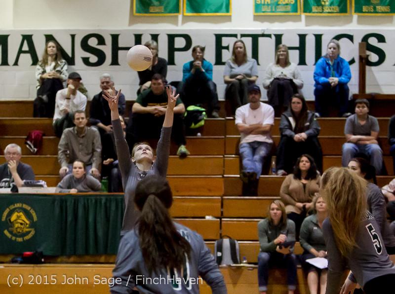 9461 Varsity Volleyball v Crosspoint 102315