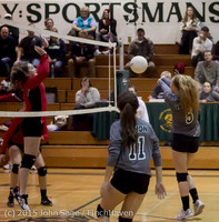 9464 Varsity Volleyball v Crosspoint 102315