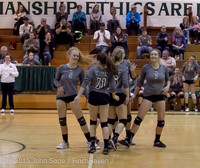 9488 Varsity Volleyball v Crosspoint 102315
