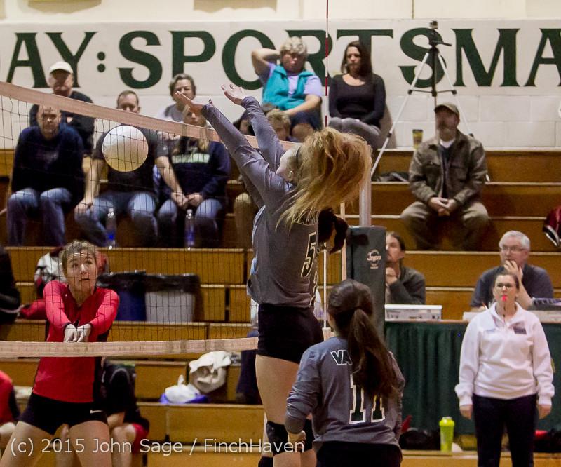 9500 Varsity Volleyball v Crosspoint 102315