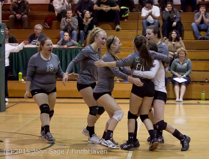 9540 Varsity Volleyball v Crosspoint 102315
