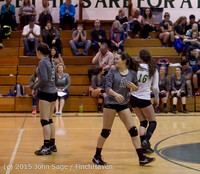 9551 Varsity Volleyball v Crosspoint 102315