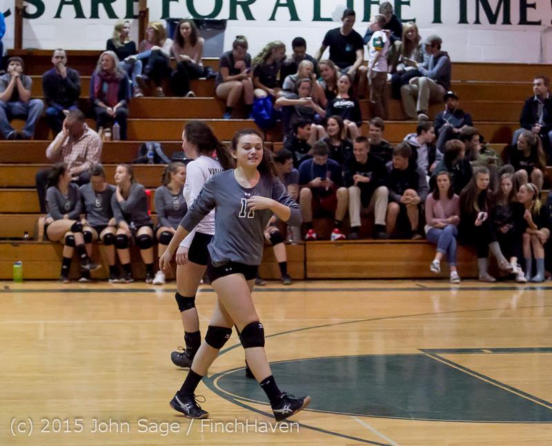 9555 Varsity Volleyball v Crosspoint 102315